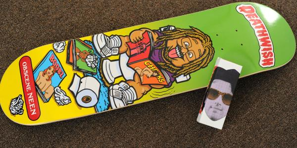 Instagame: Win a Deathwish Neen Williams Deck
