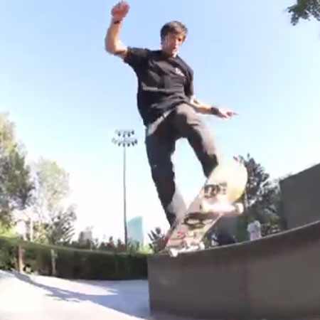 Chris Cole's New Part for the DC Cole Lite 2