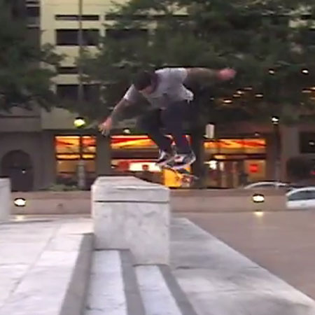 Bobby Worrest Backside Powerslides into Traffic