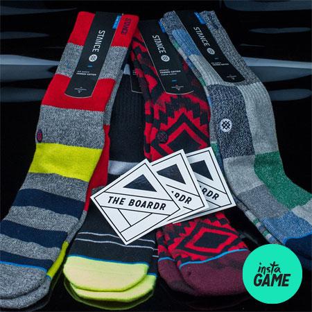 InstaGame: Stance Socks Up for Grabs