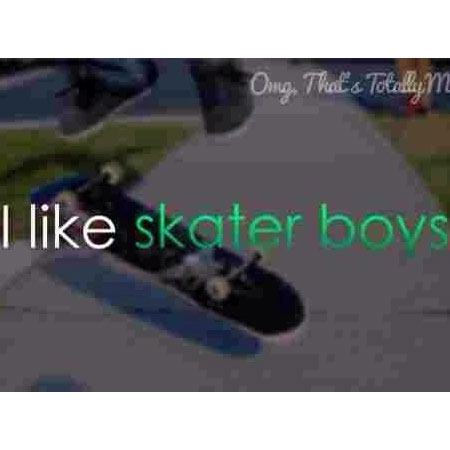It's Friday, I'm in Sk8r Boi Love