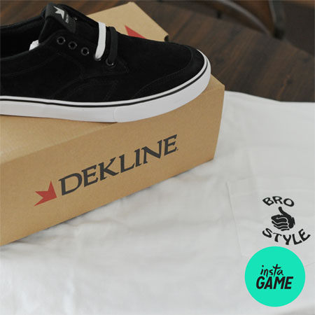 InstaGame: Win Dekline Shoes and a Bro Style Shirt