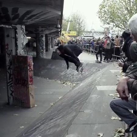 Chad Muska at South Bank in London