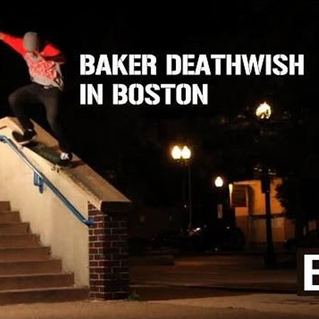 Behind the Scenes with Baker and Deathwish in Boston in 2011