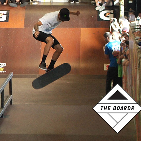 How Nyjah Huston Just Won Tampa Pro 2014