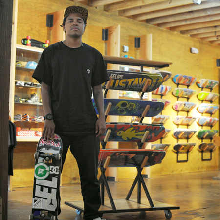 Our First Team Rider for The Boardr