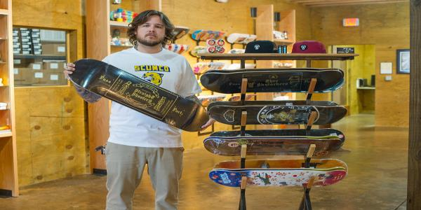 11 Types of Skateboard Shop Lurkers by Nate Sherwood