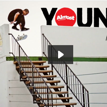 Youness' Almost Part on Thrasher