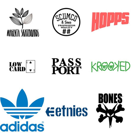 My Favorite Skateboarding Companies Right Now Are...