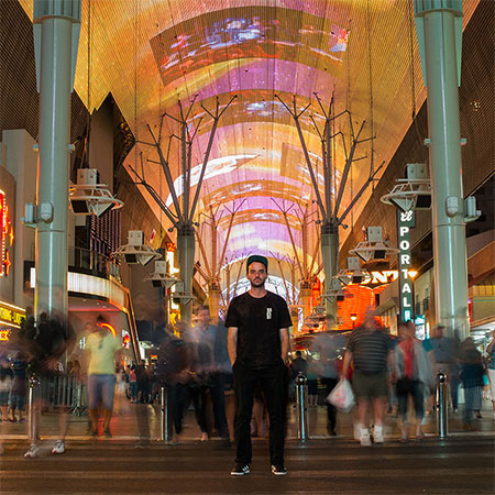 Arrival in Las Vegas for Zappos Rideshop Series