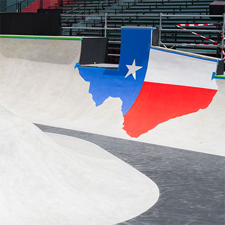 X Games 2014 Course and Arrival in Austin