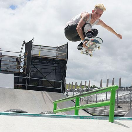 Women's Skateboarding at X Games Austin 2014