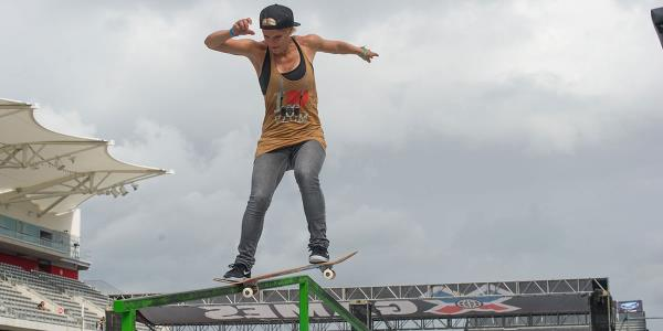 Women's Skateboarding at X Games Austin 2014