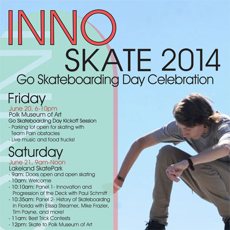 Rodney Mullen in Florida for Go Skateboarding Day: Innoskate 2014