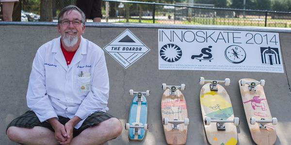 Innoskate at Polk Museum in Lakeland for Go Skateboarding Day