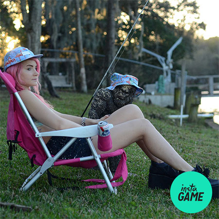 InstaGame: Win RIPNDIP Flamingo Hats