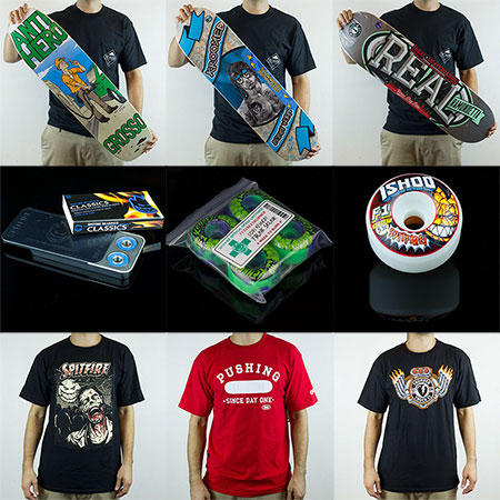 Deluxe Skateboarding Gear in Stock Now: GRANTIHERO!!