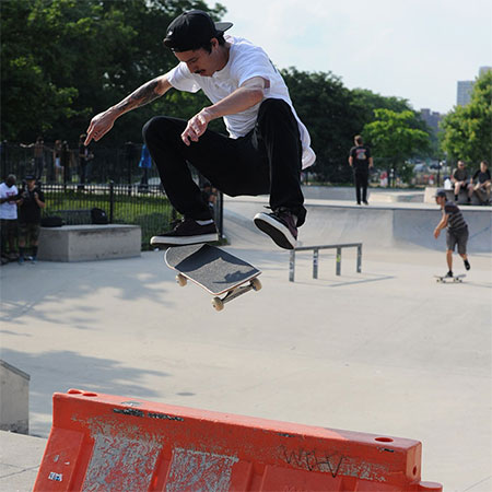 Street League Impromptu Demo in Chicago