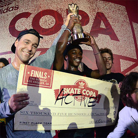 Active Wins adidas Skate Copa 2014 Finals