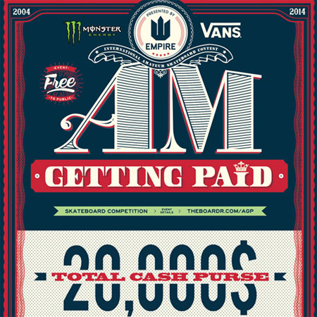 The Boardr and Empire Bring Back Am Getting Paid, Canada's Top Am Skateboarding Event