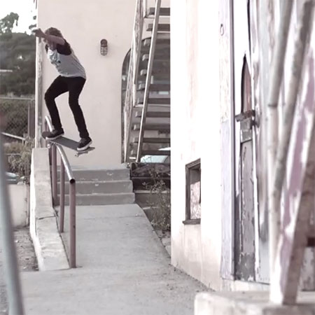 Curren Caples Raw Footage from Flip 3