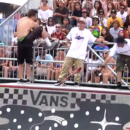 Chris Russell Firing Line at Van Doren