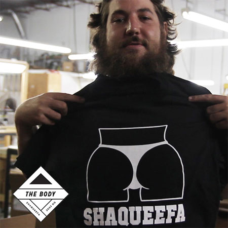 A Special Edition of Skateboard Shopping with The Body: Shaqueefa