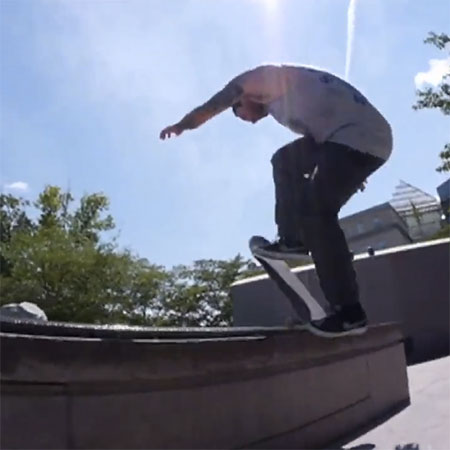 Bobby Worrest in NYC for Quartersnacks and Nike