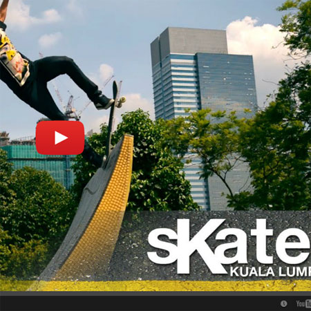 SKATE Malaysia with Kieron Brodie