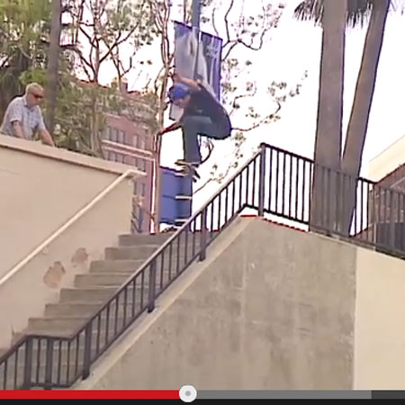 Nick Merlino's Kickflip Battle