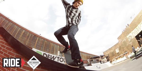 On The Boardr: Shredding at Dew Tour Brooklyn