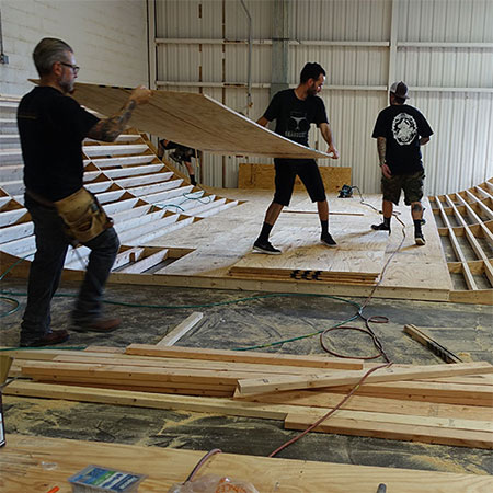 The Boardr Mini-Ramp is Done: Skate For Free on Saturday!