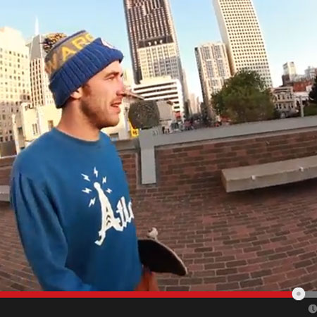 Tony Manfre Skates San Francisco