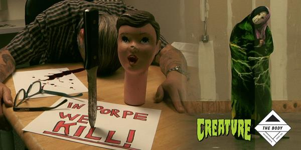 Creature's Special Halloween Edition of Shopping with The Body