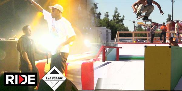 Ripping Skateboarding and Hip Hop at Camp Flog Gnaw Carnival