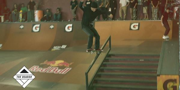 GOLDEN TICKET! Jereme Knibbs Tampa Am 2014 First Place Qualifiers Shredding