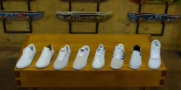 Everything's All White! Eight Cloud Kicking Skateboard Sneakers to Rip