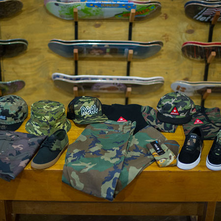 Gear Up to Go All Camo for the Skateboard War