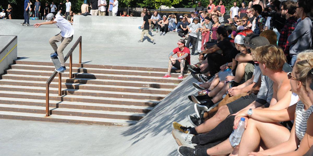 How Jams vs Runs Format Skateboarding Contest Judging Works
