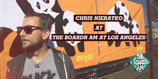 Chris Nieratko Chats with You at The Boardr Am