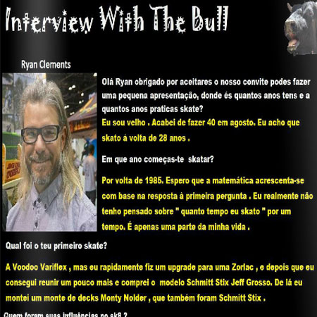 Interview With The Bull: Ryan Clements