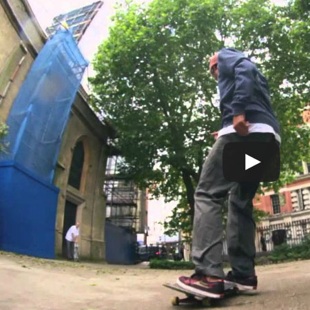 Sebo Walker and the Lakai Crew in London