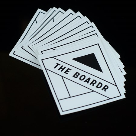 The Boardr Diamond Logo Sticker
