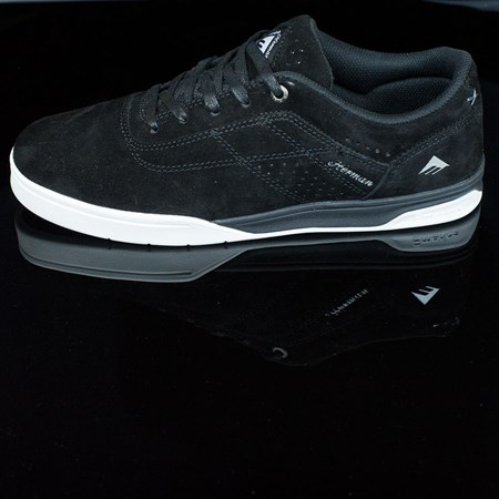 Size 8 in Emerica The Herman G6 Shoes, Color: Black, White