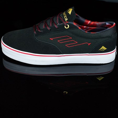 Emerica The Provost Shoes Black, Red, White