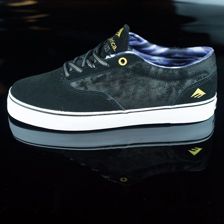 Size 10.5 in Emerica The Provost Shoes, Color: Black, Grey, White