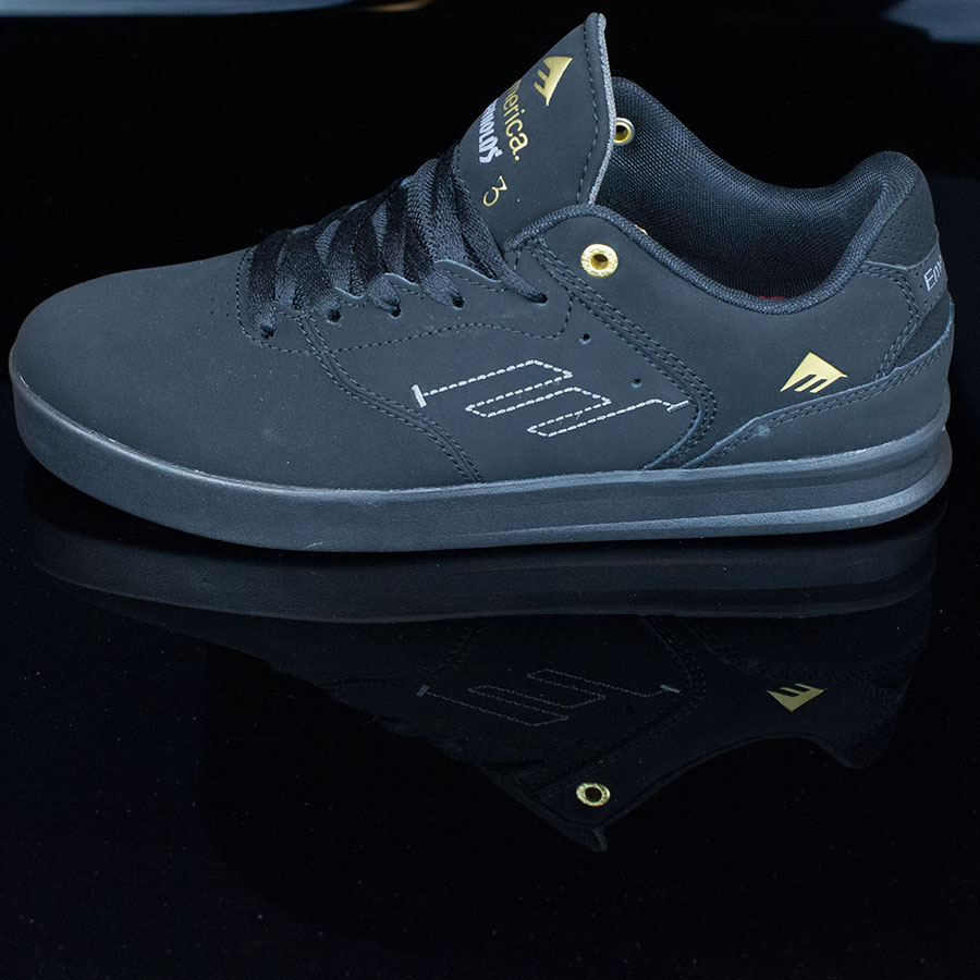 Black, Black Shoes The Reynolds Low Shoes in Stock Now