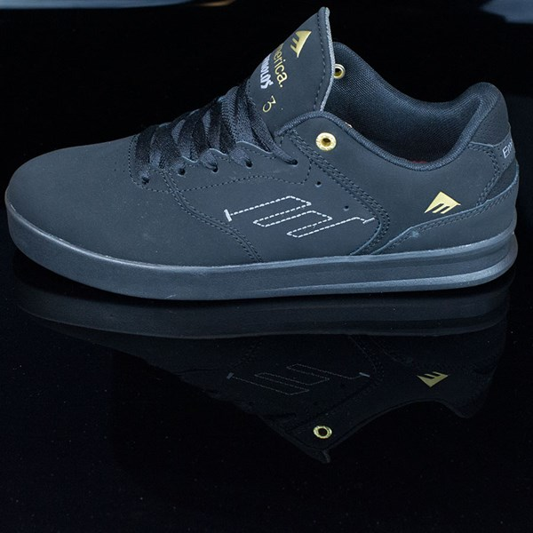 Emerica The Reynolds Low Shoes Black, Black