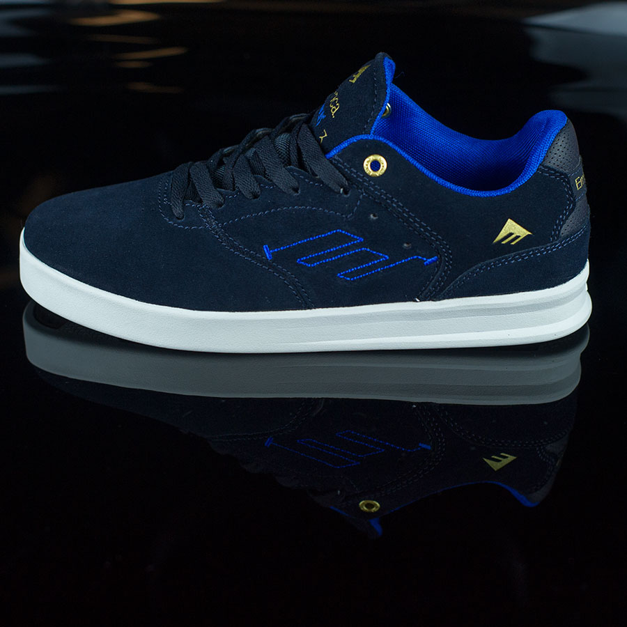 Dark Navy Shoes The Reynolds Low Shoes in Stock Now