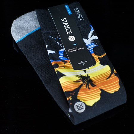 Stance Midland Socks Black in stock now.